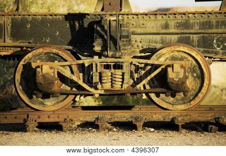 Antique Train Wheels