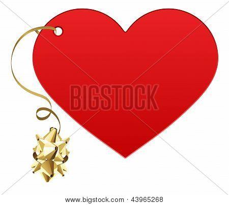 Gift love heart