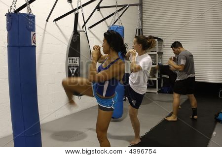 Women In Mma Training