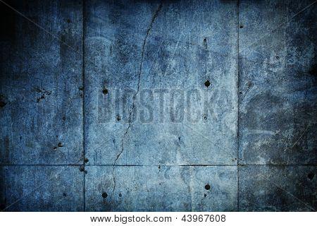 Muro de pedra concreto sujo