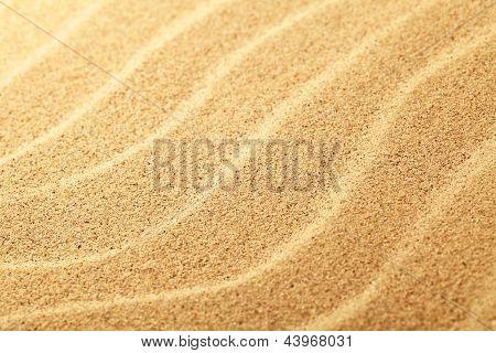 Fundo de areia