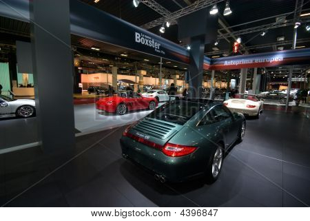 Porsche Stand At Motor Show