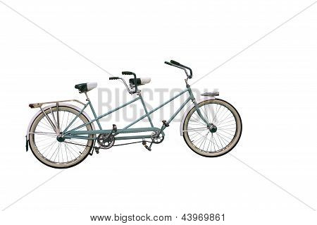 Retro Tandem Bicycle