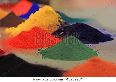 Colored Powder Coating