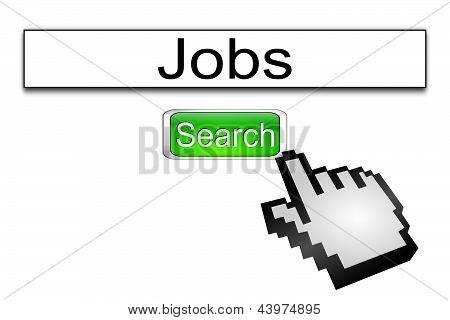 Internet web search engine jobs