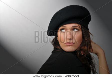 Woman With Beret