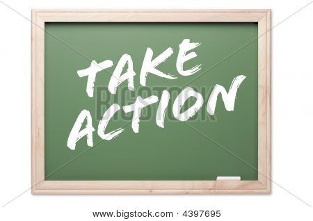Chalkboard Series - Take Action