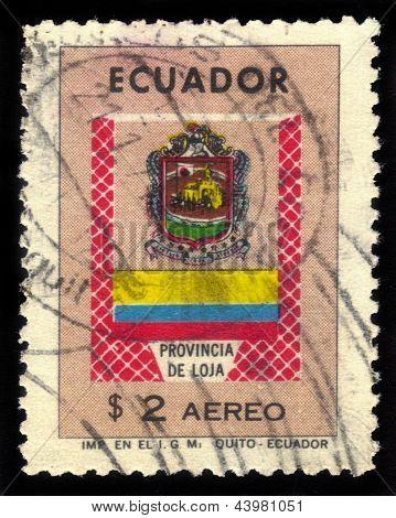Coat Of Arms Of Loja Province In Ecuador