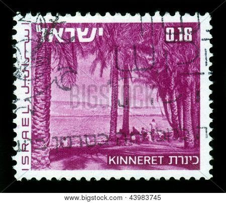 Landscapes Of Israel -  Lake Kinneret ( Sea Of ??galilee )