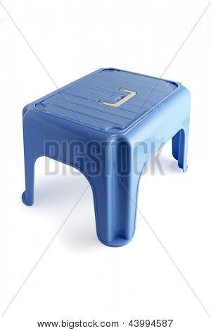 Plastic stool for children