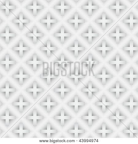 Abstract Vector nahtlose Muster mit Farbverlauf kreuzen