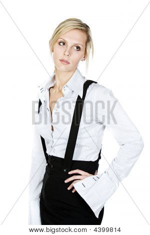 Business Blonde Woman