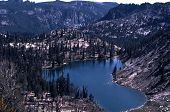 Heart Lake in Idaho Wilderness