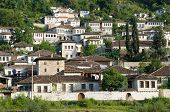 pic of albania  - Gorica neighborhood of Berat - JPG