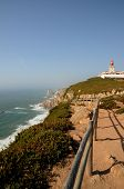 Portugal, Sintra, Lighthouse Of Cabo Da Roca