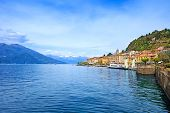 Bellagio Town, Como Lake District Landscape. Italy, Europe.