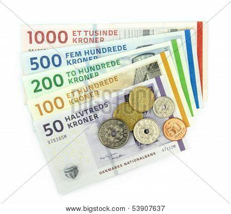 Danish kroner ( DKK )