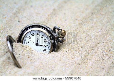 Antique pocket watch .