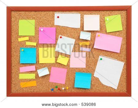 Colorful Cork Board
