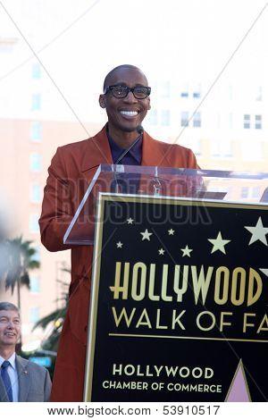 LOS ANGELES - NOV 13:  Raphael Saadiq at the Jennifer Hudson Hollywood Walk of Fame Star Ceremony at W Hollywood Hotel on November 13, 2013 in Los Angeles, CA