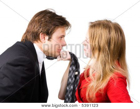 Man And Woman Conflict