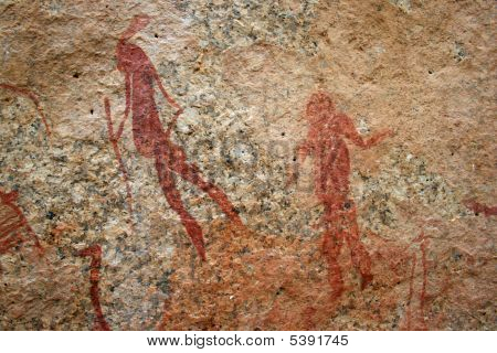 Bushmen Rock Engravings