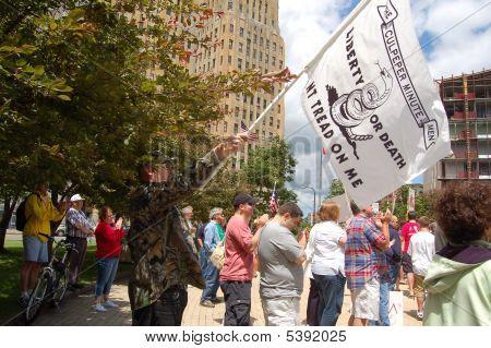 Liberty  Or Death Flag