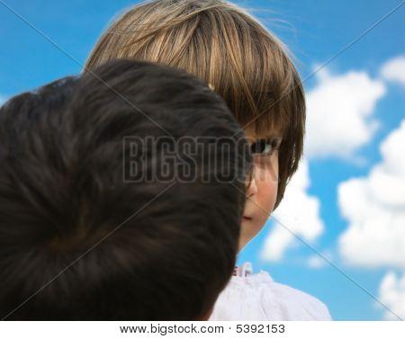 Child Burrowing