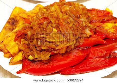 Fried pepper