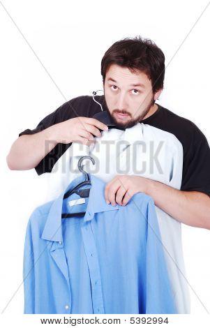 Man Wearing A Shirt