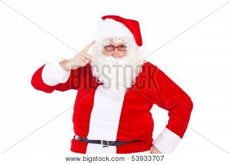 Santa Claus Saying To You That You Was Not Nice