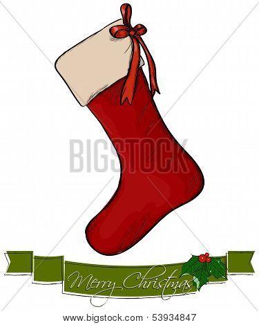 Christmas sock.