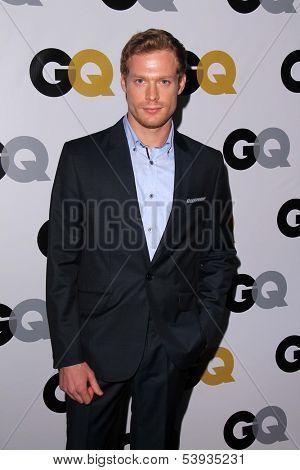 LOS ANGELES - NOV 12:  Sam Reid at the GQ 2013