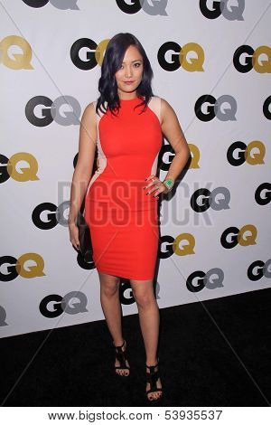"LOS ANGELES - NOV 12:  Pom Klementieff at the GQ 2013 ""Men Of The Year"" Party at Wilshire Ebell on November 12, 2013 in Los Angeles, CA"