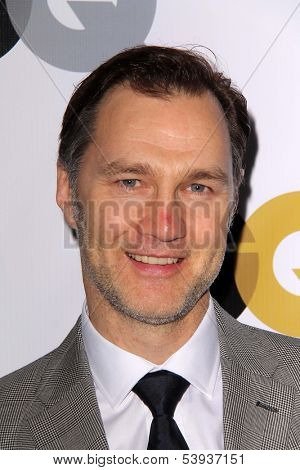 LOS ANGELES - NOV 12:  David Morrissey at the GQ 2013