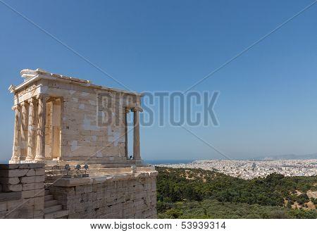 Temple Of Athena Nike Acropolis Athens