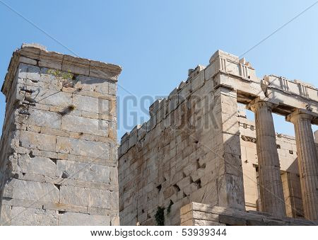 Acropolis Views In Athens Greece