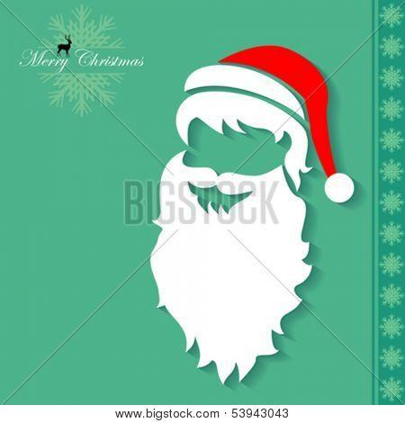 My favorite Santa Claus Face Mask