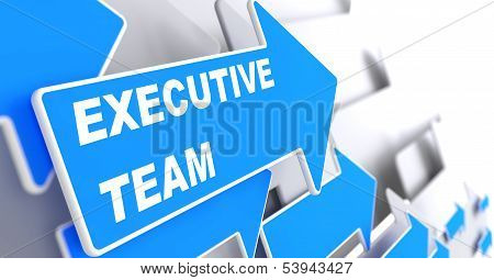 Executive Team on Blue Arrow.