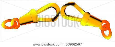 Gold Chain Clasp