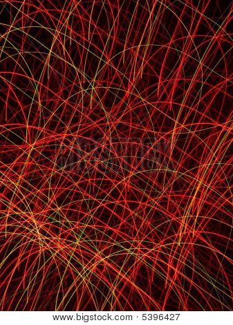 Fireworks Camera Motion Pattern