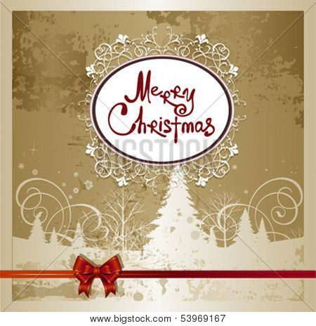 Merry Christmas background. This illustration is an EPS10 file and contains several transparencies blend which its easily editable in separate layers. Vector illustration scale to any size.