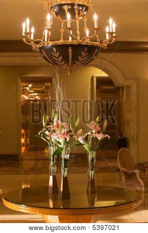 Fancy Hotel Lobby