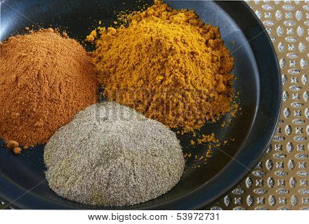 Three Indian Spices
