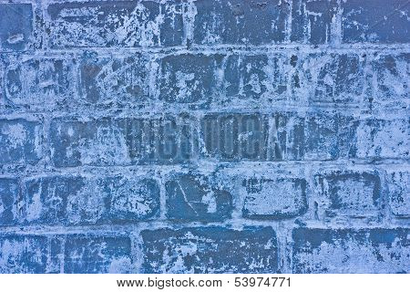 Texture Of Blue Stoned Bricks