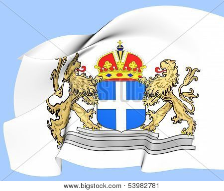 Zwolle Coat Of Arms, Netherlands.