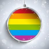 stock photo of gay flag  - Vector  - JPG