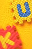 picture of kiddie  - Kiddies style Colored Alphabet and number blocks