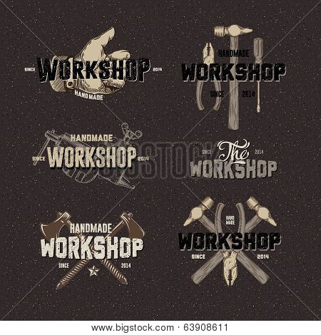 Vintage Workshop conceptual labels