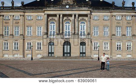 Queen Palace Denmark Copenhagen Amalienborg Castle